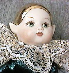 Elf Doll Painted by Dolores K. Smith