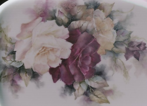 Rose Painting by Donna Debling