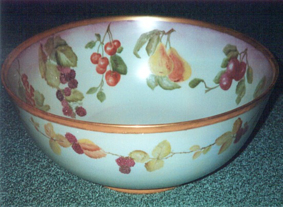 Bowl Painted by Molly Clulow