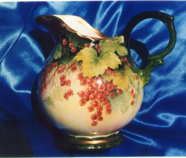 Pitcher Painted by Susan Thumm